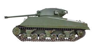 Carro armato di Sherman isolato immagini stock libere da diritti