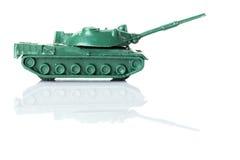 Carro armato due del giocattolo Immagine Stock Libera da Diritti