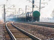 Carro armato ferroviario Immagini Stock Libere da Diritti