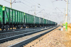 Carro armato ferroviario Immagine Stock