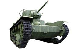 Carro armato leggero con una torretta cilindrica Fotografia Stock Libera da Diritti