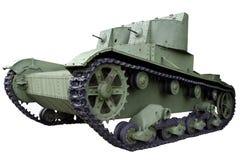 Carro armato leggero del gemello-turreted Immagini Stock Libere da Diritti