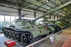 Carro armato medio sovietico T-54 1949 Immagine Stock Libera da Diritti