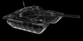 Carro armato militare Immagini Stock Libere da Diritti