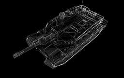 Carro armato militare Immagine Stock