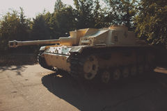 Carro armato militare Fotografia Stock Libera da Diritti