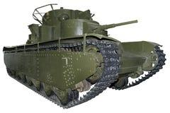 Carro armato pesante della cinque-torretta Immagini Stock Libere da Diritti