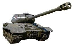Carro armato pesante sovietico IS-2 della seconda guerra mondiale Fotografia Stock Libera da Diritti
