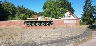 Carro armato russo di WWII immagine stock