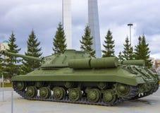 Carro armato sovietico pesante Immagini Stock