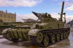 Carro armato sovietico pesante. Guerra fredda fotografia stock libera da diritti