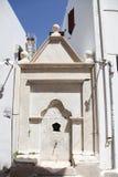 Carro armato sull'isola di Paros Fotografia Stock Libera da Diritti