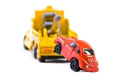 Carro atrás do trowtruck (2) Foto de Stock