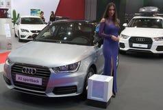 Carro Audi A1 Sportback Foto de Stock