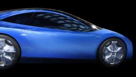 Carro azul fotos de stock royalty free