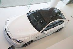 Carro bonde agradável de BMW Fotos de Stock