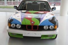 Carro bonde agradável de BMW Imagens de Stock