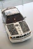 Carro bonde agradável de BMW Foto de Stock Royalty Free