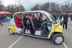 Carro bonde para a entrega dos veteranos Imagem de Stock Royalty Free