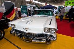 Carro branco Fotografia de Stock Royalty Free