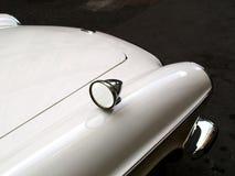Carro branco velho Fotos de Stock