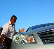 Carro brandnew foto de stock royalty free