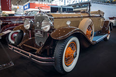 Carro Cadillac 341B Convertível do vintage, 1929 Fotografia de Stock Royalty Free