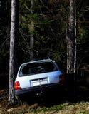 Carro causado um crash Imagem de Stock Royalty Free