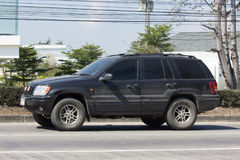 Carro Cherokee privado do jipe 4X4 Imagens de Stock Royalty Free