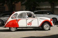 Carro Citroen do vintage Fotografia de Stock