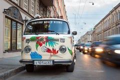 Carro clásico de Volkswagen foto de archivo