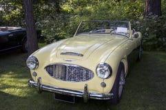 Carro clássico Austin Healey 100-6 Fotografia de Stock Royalty Free
