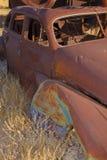 Carro clássico de oxidação imagem de stock