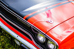 Carro clássico de Plymouth do americano foto de stock royalty free