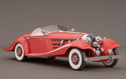 Carro clássico elegante vermelho Foto de Stock Royalty Free