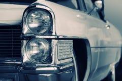 Carro clássico em preto e branco Imagens de Stock Royalty Free