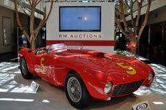 Carro clássico luxuoso positivo de Ferrari 375 do italiano Fotografia de Stock