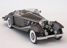 Carro clássico preto Imagem de Stock Royalty Free