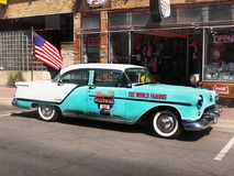 Carro clássico, Route 66 Williams, Estados Unidos do Arizona América foto de stock