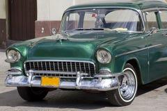 Carro clássico velho em Cuba Foto de Stock Royalty Free