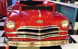Carro clássico vermelho Imagens de Stock Royalty Free