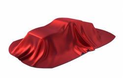 Carro coberto ilustração royalty free