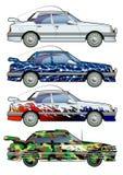 Carro. Coloração. Foto de Stock Royalty Free