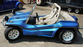 Carro com erros da praia de Volkswagen, veículo fora de estrada Foto de Stock Royalty Free