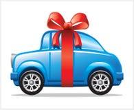 Carro com fita Imagens de Stock