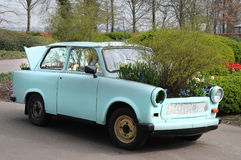 Carro com flores Imagem de Stock Royalty Free