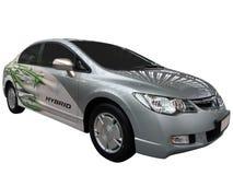 Carro com motor híbrido Imagens de Stock Royalty Free