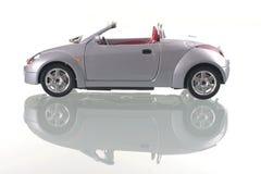 Carro com reflexão. Imagens de Stock