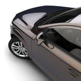 Carro com uma pintura two-tone escura Fotografia de Stock Royalty Free