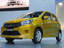 Carro compacto novo Celerio de Suzuki Imagens de Stock Royalty Free
